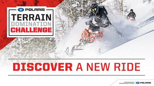 Polaris Snow Terrain Domination Sales Event MY2015-2018